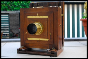 Original 18-something Wet Plate Camera