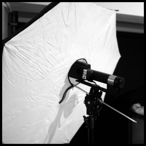 Handy softbox for my Metz 45 CL4, twice