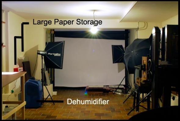 The studio part