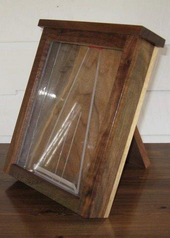 BlackArt Woodcraft Walnut Fixer Box for 8x10 plates