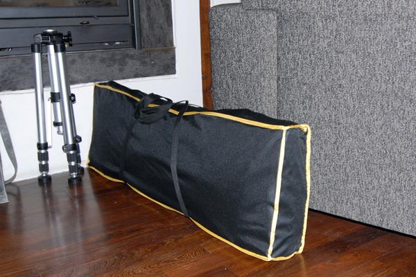 The folded-really-doable-version & Secret Jardin Darkroom Tent DR100 | Photography Contrastique ...