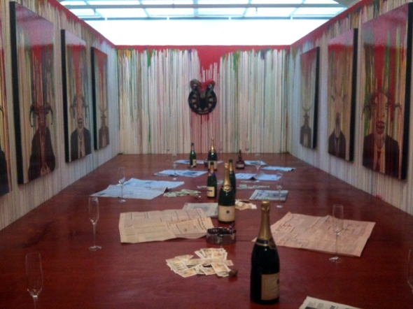 Stanley Donwood & the Red Maze