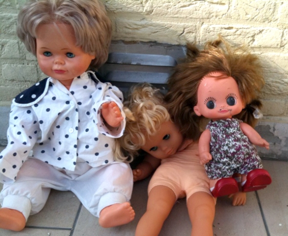Before: Them bloody happy dolls