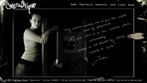 Website FrontPage