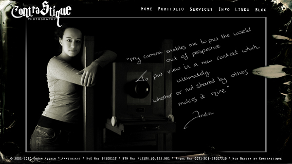 Website FrontPage