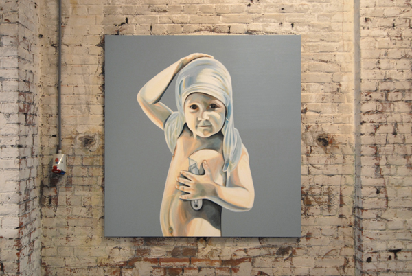 Creator: Pascalle Mansvelders. Love the child with the knife; you can make of this whatever you want.
