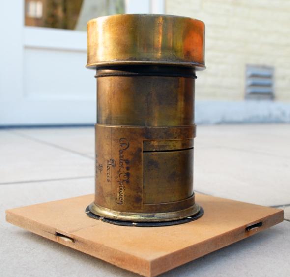 Darlot Petzval No. 28,249 370mm f5