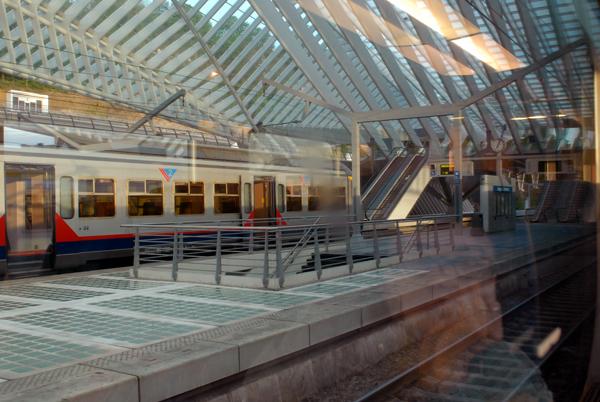 Train Station Liège Guillemis