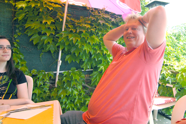 Jeroen with a bit of Summer ;-)