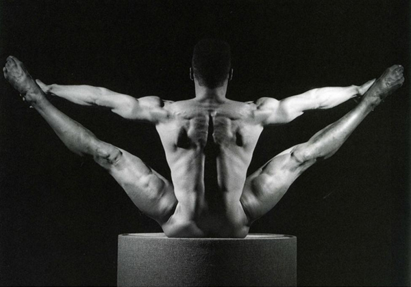 © Robert Mapplethorpe Foundation. If I violated any rules by using this photo I apologize in advance and will delete all of it when contacted. I do not intend to shock anyone with its content; it's merely used to support my piece.