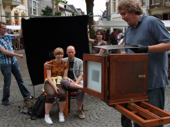 """Geert-Jan """"shooting"""" his victims - Photo: courtesy of Guido Vandebroek vandebroek-beuls@telenet.be"""