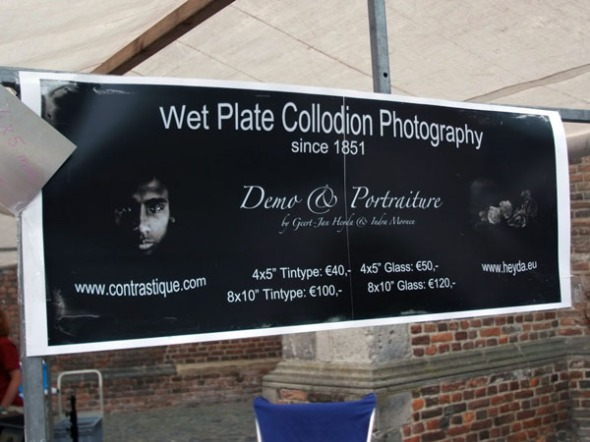 Our sign board. Photo: courtesy of Guido Vandebroek vandebroek-beuls@telenet.be