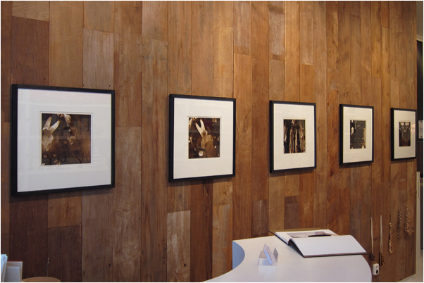 My lith prints on the wall