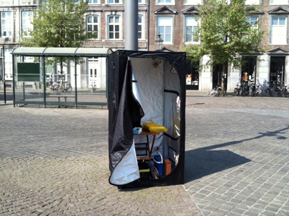 The All-Evil-In-Public-Space-Darkroom-Tent